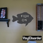 Perch Fish Chalkboard Decal
