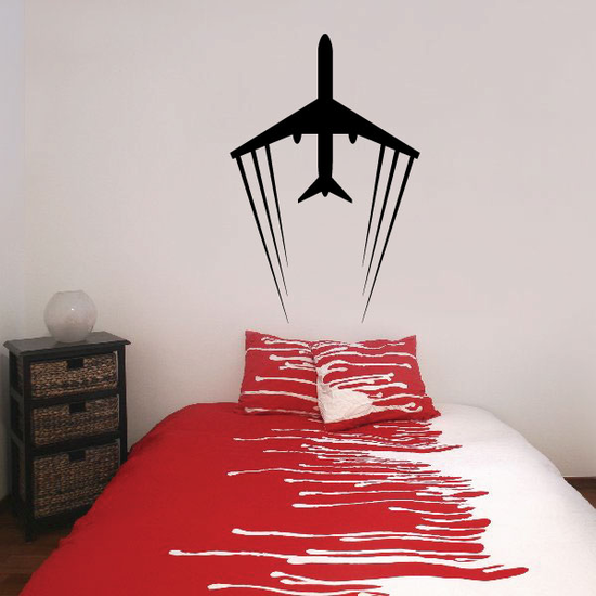 Airliner Flight Decal