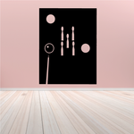 Abstract Pool Table Sport Decal