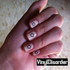 stars MC069 Fingernail Art Sticker - Vinyl Finger Nail Decals
