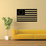 Betsy Ross America Flag Decal