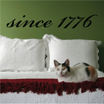 Since 1776 Wall Decal