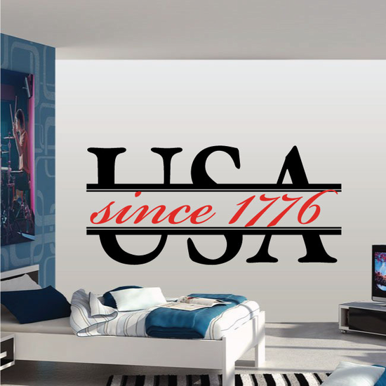 USA Since 1776 Wall Decal