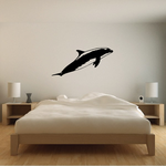 Pacific Floating Dolphin Decal