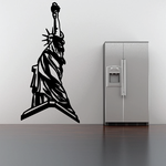Statue Of Liberty in Persepective Decal
