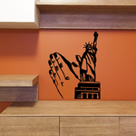 Statue of Liberty Prayer Decal