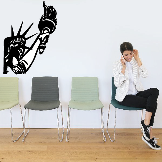 Statue of Liberty Torch Decal