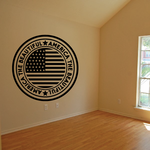 America the Beautiful Wall Decal