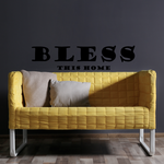 Bless this home Wall Mural Decal