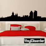 Amsterdam Netherlands Skyline Wall Decal