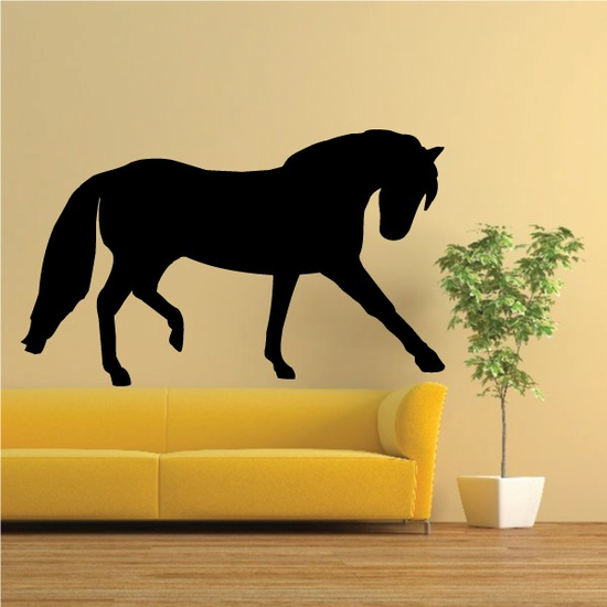 Andalusia Horse Trotting Decal