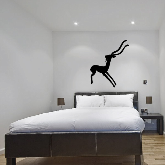 Abstract Antelope Decal