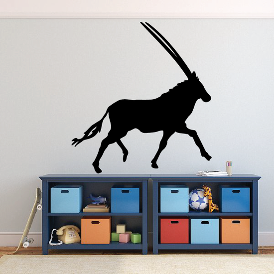 Running Antelope Decal