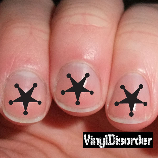 Symbols ST070 Fingernail Art Sticker - Vinyl Finger Nail Decals