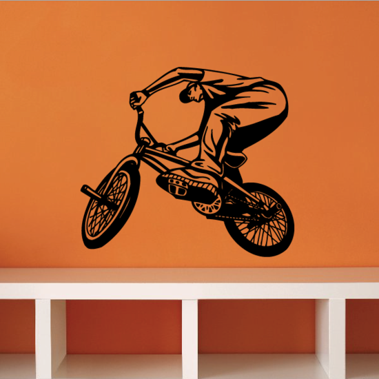 Full Cab BMX Rider Decal