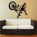Tail Whip BMX Rider Decal