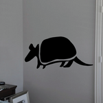 Abstract Armadillo Decal