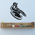 Fakie Out BMX Rider Decal