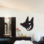 Scary Dog Decal