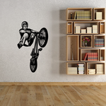 BMX Bike Wall Decal - Vinyl Decal - Car Decal - CDS002