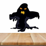 Halloween Ghost Monster Sticker