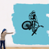 BMX Bike Wall Decal - Vinyl Decal - Car Decal - CDS019