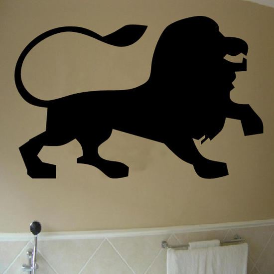 Leo Wall Decal - Vinyl Decal - Car Decal - Astrology Decal - 030