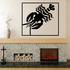 Cancer Wall Decal - Vinyl Decal - Car Decal - Astrology Decal - 039