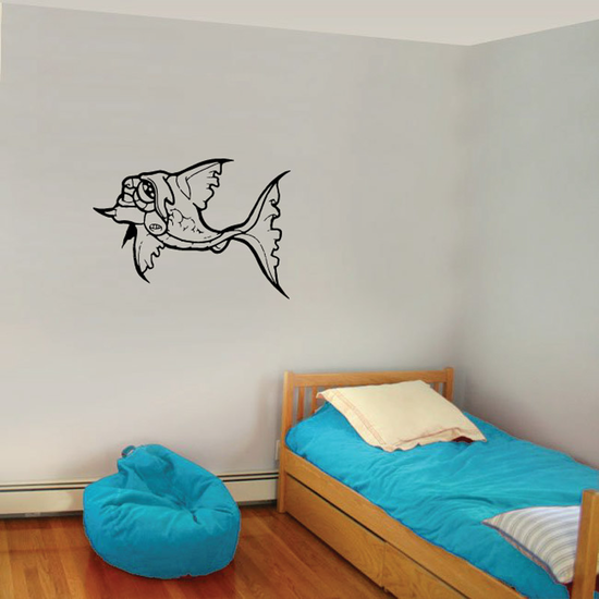 Fish Wall Decal - Vinyl Decal - Car Decal - DC248