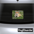 Puppy Dog In Loving Memory Custom Rounded Rectangle Sticker