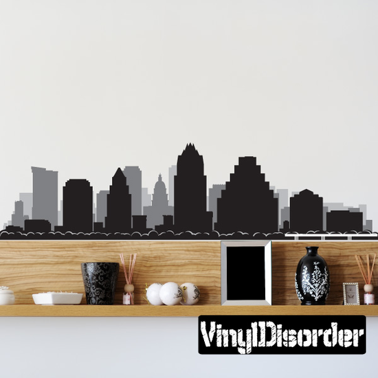 Austin Texas Skyline Vinyl Decal