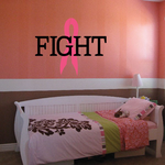 Fight Cancer Awareness Decal