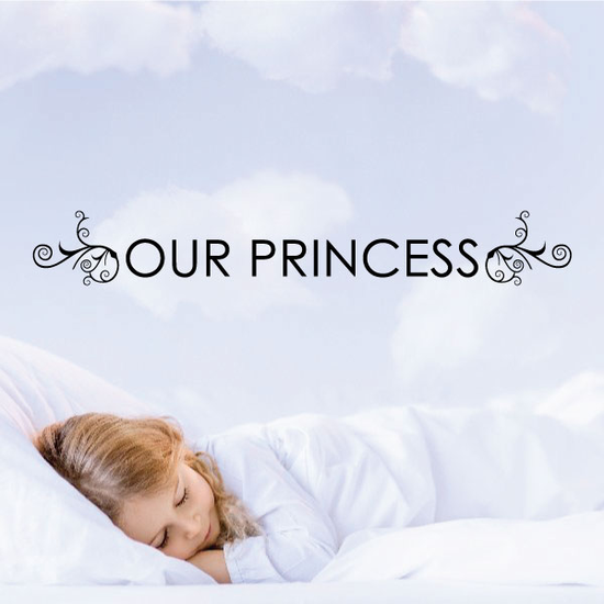 Our Princess Decal
