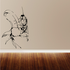 Grasshopper on Plant Decal