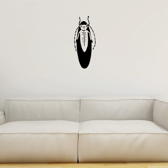 Resting Firefly Decal