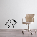 Little Dot Lady Bug Decal