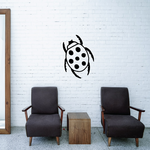 Seven Dotted Ladybug Decal