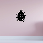 Modest Dotted Ladybug Decal
