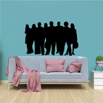 Group of Business People Sticker