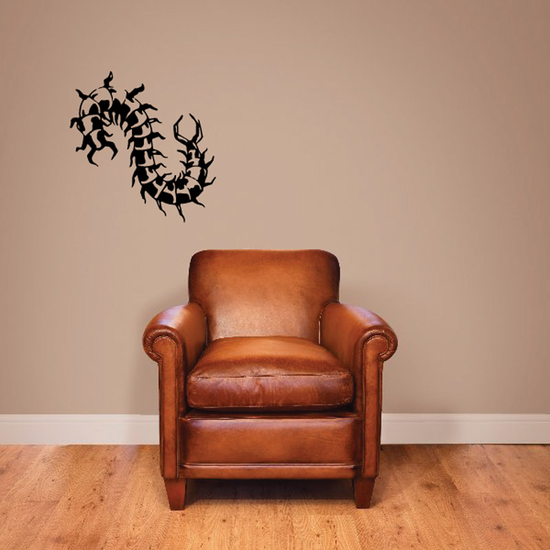 Insidious Jaw Centipede Decal