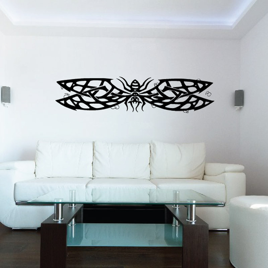 Wide Winged Insect Decal