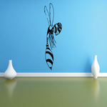 Alien Flying Hornet Decal