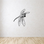 Drake the Dragonfly Decal