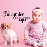 Fairytales Do Come True Princess Decal