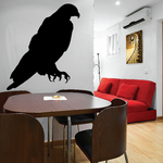 Bald Eagle Perched Decal