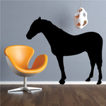 Barb Horse Decal