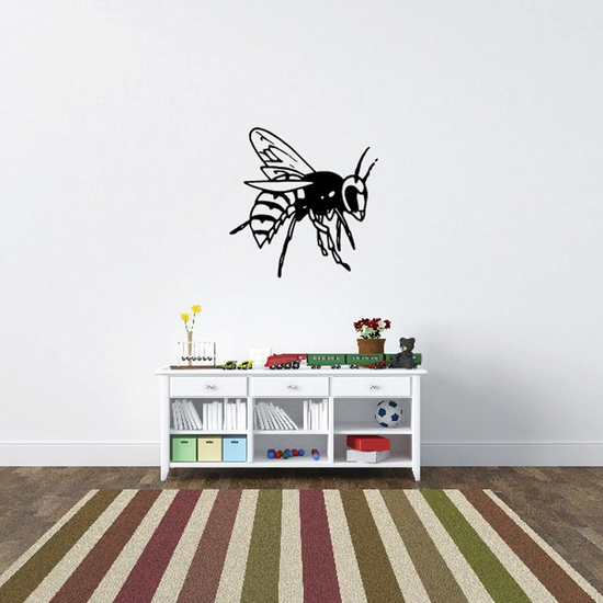 Hornet Searching in Flight Decal