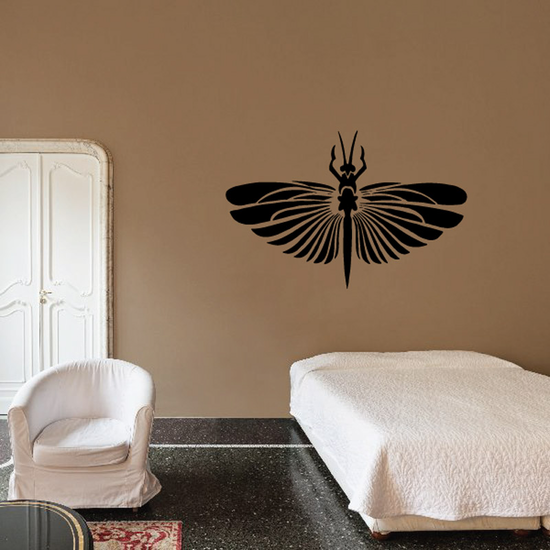 Petal Winged Insect Decal
