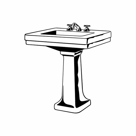 Sink Decal