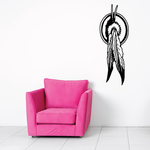 Feathers Dream Catcher Decal